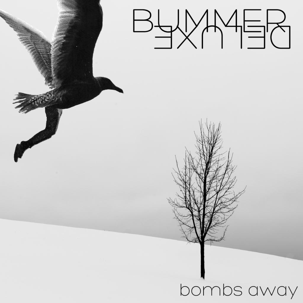 Bummer Deluxe, Bombs Away EP cover art.
